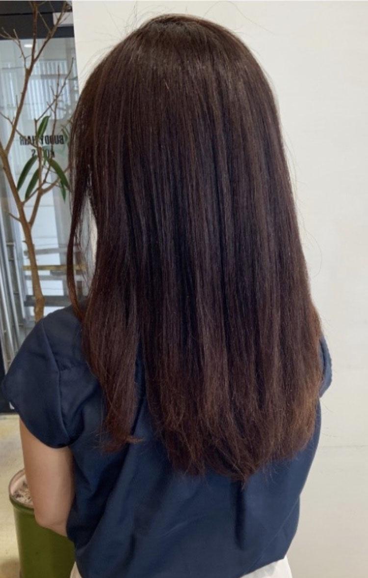 2回目の髪質改善